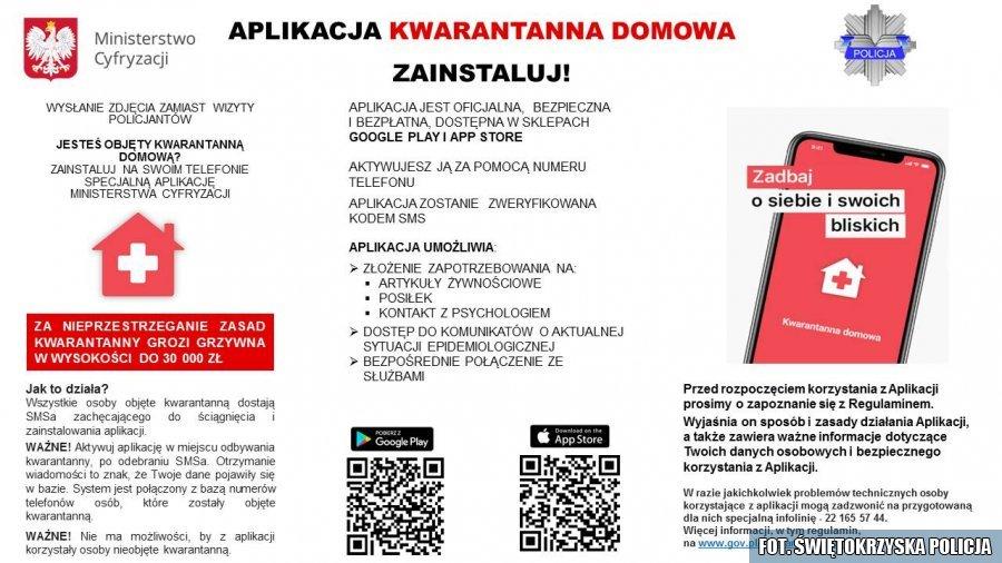 Pobierz aplikację kwarantanna domowa Aktualności KPP